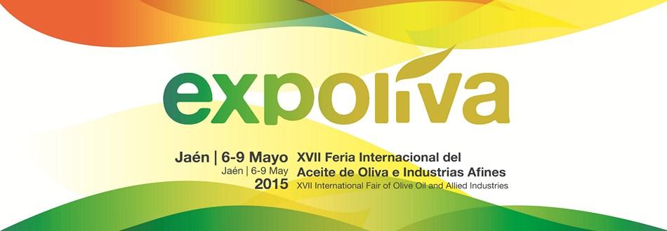 EXPOLIVA 2015. Del 6 al 9 de Mayo, Jaén.