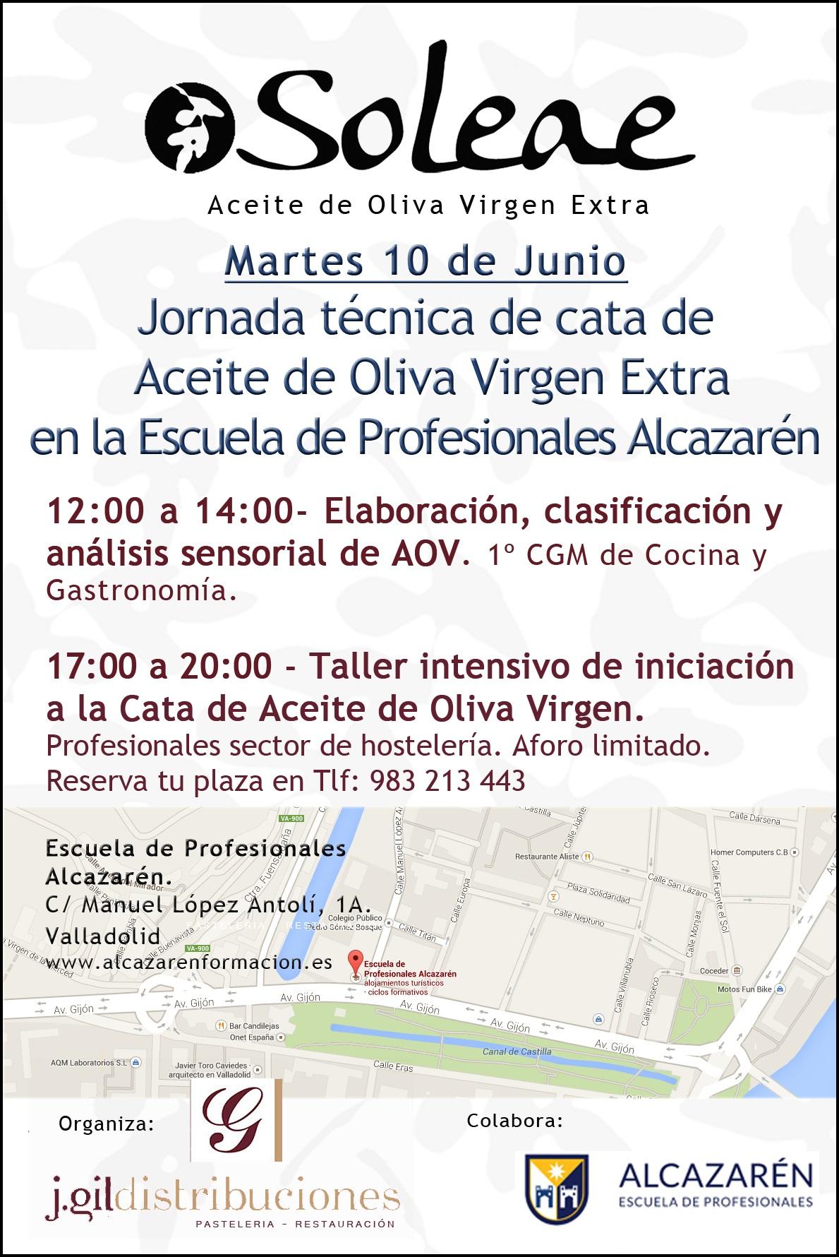Jornada técnica de cata en Valladolid