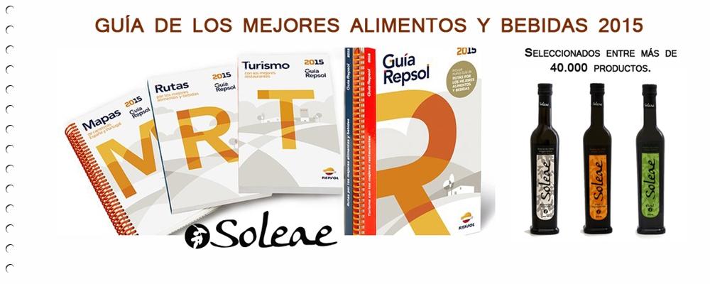 El Aove de Soleae elegido por la Guía Repsol 2015.